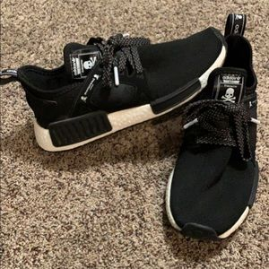 Adidas NMD Black with skulls